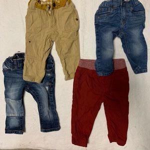 Bundle of 4 cat & jack and genuine kids pants